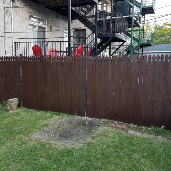 Fence staining chicago