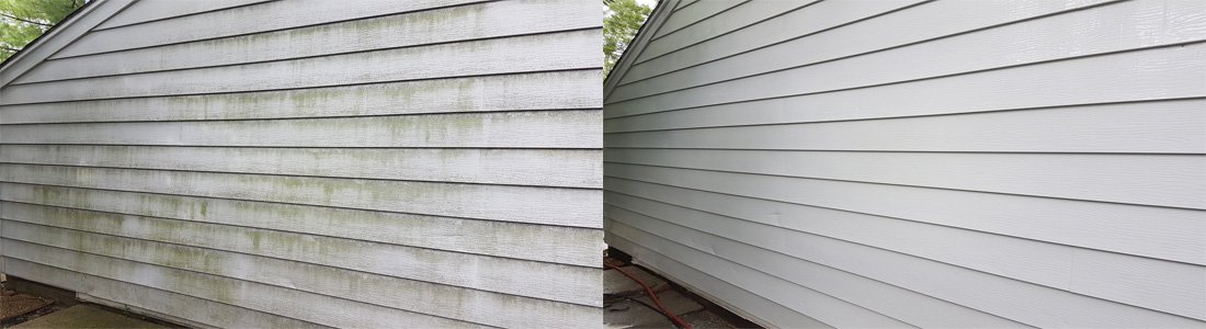 siding soft washing